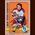 1972-73 Topps  Brad Park New York Rangers - Autographed