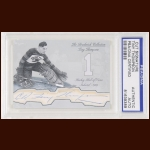 "Cecil ""Tiny"" Thompson Autographed Card - The Broderick Collection - Deceased"