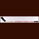 Brendan Shanahan New Jersey Devils White Titan Game Used Stick
