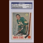 Ray Cullen 1969 OPC – Minnesota North Stars – Autographed – PSA/DNA