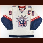 Wayne Gretzky New York Rangers Authentic Jersey – Statue Of Liberty