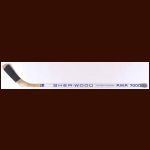 Rob Ramage St. Louis Blues White Sher-Wood Game Used Stick