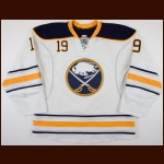 2012-13 Cody Hodgson Buffalo Sabres Game Worn Jersey - Photo Match
