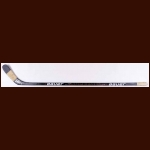 Eric Lindros Philadelphia Flyers Black Bauer Game Used Stick - Autographed