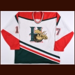 Halifax Mooseheads Game Worn Jersey – Player #17