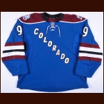 2013-14 Matt Duchene Colorado Avalanche Game Worn Jersey – Alternate