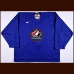 "2002 Keith Primeau Team Canada Olympics Training Camp Worn Jersey - ""Respect"""