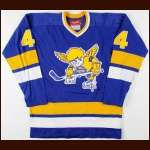 1975-76 Mike Walton Minnesota Fighting Saints Game Issued Jersey