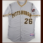 2008-09 Joe Kerrigan Pittsburgh Pirates Pitching Coach Worn Jersey