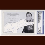 Rudy Pilous Autographed Card - The Broderick Collection - Deceased