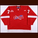 2004-05 Shawn Collymore Toledo Storm Game Worn Jersey – ECHL Letter