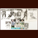 Hartford Whalers Autographed Group of (10) – Includes Hall of Famer
