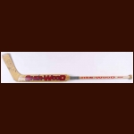 Jose Theodore Montreal Canadiens Sher-Wood Game Used Stick - Autographed