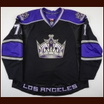 2010-11 Jordan Nolan Los Angeles Kings Pre-Season Game Worn Jersey – Team Letter
