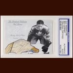 "George ""Red"" Horner Autographed Card - The Broderick Collection - Deceased"
