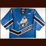 2000 Dan Blackburn Kootenay Ice Game Worn Jersey