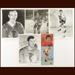 Chicago Blackhawks Autographed Group of (37) – Includes Hall of Famers and Deceased