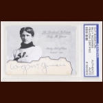Billy McGimsie Autographed Card - The Broderick Collection - Deceased