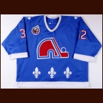 1992-93 Jacques Cloutier Quebec Nordiques Game Worn Jersey