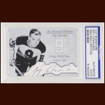 Roy Conacher Autographed Card - The Broderick Collection - Deceased
