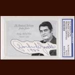 Gordon Juckes Autographed Card - The Broderick Collection - Deceased