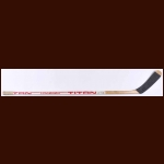 Wayne Gretzky Edmonton Oilers White Titan Game Used Stick – Stanley Cup Winning Season – Autographed