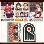 1977-78 OPC Philadelphia Flyers Autographed Card Group of 25 – Rick MacLeish, Ross Lonsberry & Fred Shero (Deceased)