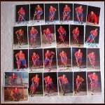 Montreal Canadiens Autographed Color Postcard Group of 25 - Including Many HOFers