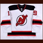 2012-13 Travis Zajac New Jersey Devils Game Worn Jersey