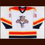 2000-01 Marcus Nilson Florida Panthers Game Worn Jersey