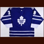 2002-03 Brad Boyes Toronto Maple Leafs Pre-Season Game Worn Jersey