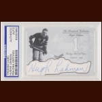 Hugh Lehman Autographed Card - The Broderick Collection - Deceased