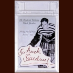 Chuck Gardiner Autographed Card – The Broderick Collection – Deceased