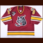 1995-96 Brian Pellerin Chicago Wolves Game Worn Jersey