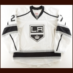 2013-14 Alec Martinez Los Angeles Kings Game Worn Jersey - Stanley Cup Season – Photo Match