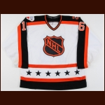 1989 Brett Hull NHL All Star Game Worn Jersey - 1st NHL All Star Game