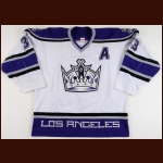2003-04 Ziggy Palffy Los Angeles Kings Game Worn Jersey - Photo Match  - Team Letter