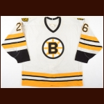 1993-94 Glen Wesley Boston Bruins Game Worn Jersey