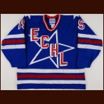 1993-94 Jim Bermingham ECHL All Star Game Worn Jersey