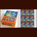 1977 TOPPS STAR WARS MOVIE PHOTO CARD BOX WITH 36 WRAPPERS
