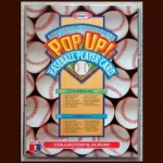 Complete Sets 1993 Kraft POP UP Baseball Cards With Collectors Album + 3 Additional Empty Albums - Lot of 2