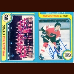 1979-80 OPC Philadelphia Flyers Autographed Card Group of 20 – Rick MacLeish & Pat Quinn (Deceased)