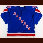 1969-70 Terry Sawchuk New York Rangers Game Worn Jersey - Last NHL Win #447 - Last NHL Shutout #103 & 1970-71 Gilles Villemure New York Rangers Game Worn Jersey - Vezina Trophy - All Star Season - Photo Matched to Both Players