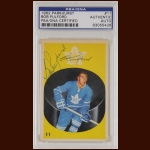 Bob Pulford 1962 Parkhurst - Toronto Maple Leafs - Autographed - PSA/DNA