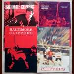 Baltimore Clippers Official Hockey Program Lot of 4 - 1966-67, 1967-68, 1968-69 and 1969-70