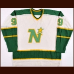 1971-73 Charlie Burns Minnesota North Stars Game Worn Jersey - The St. Paul, Minnesota Collection