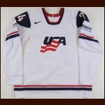 2011 Chris Porter Team USA World Championships Game Worn Jersey - Photo Match – Team USA Letter