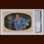 George Armstrong 1962 Parkhurst - Toronto Maple Leafs - Autographed - PSA/DNA