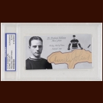 Aurel Joliet Autographed Card - The Broderick Collection - Deceased