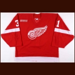 1999-00 Ken Wregget Detroit Red Wings Game Worn Jersey